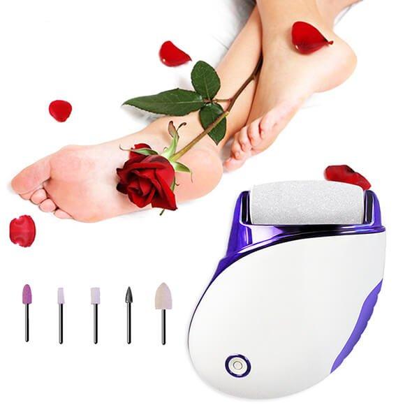 Electric Foot scrubber to remove Callus