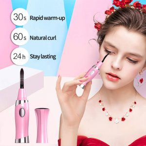 wholesale Pink Electric Heated Eyelash Curler, Cheap Price Eyelash Curler China Wholesale Manufacturer
