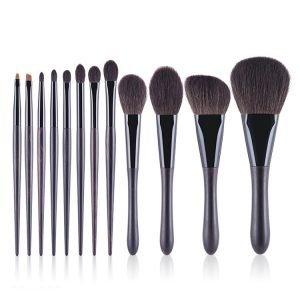 12pcs Makeup Cosmetic Brush Set for Foundation Eyeshadow China Factory