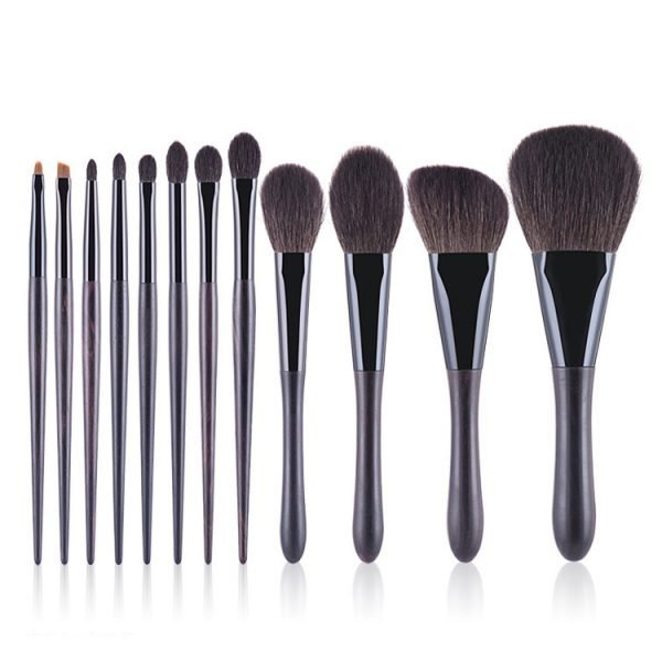 12pcs Makeup Cosmetic Brush Set for Foundation Eyeshadow China Factory