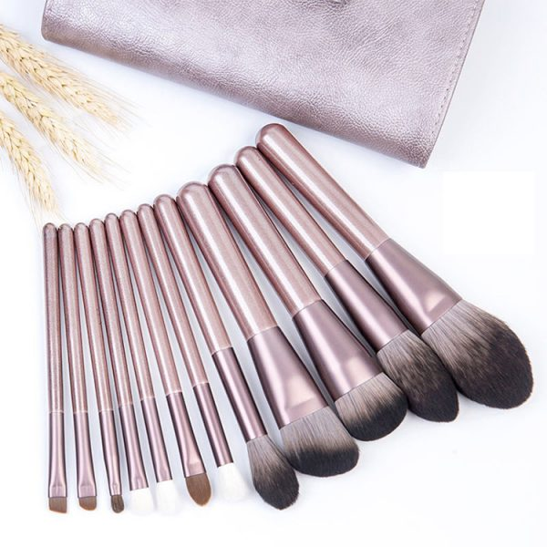 comestic Brush Set with PU Bag