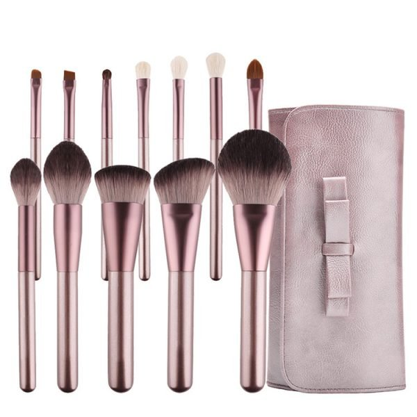 Cosmetic Makeup Brush Set with PU Bag