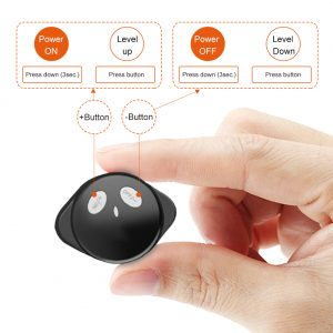 EMS Muscle Stimulator control button