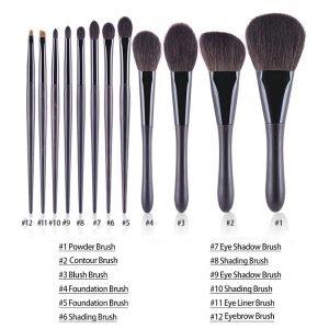 12pcs makeup brush