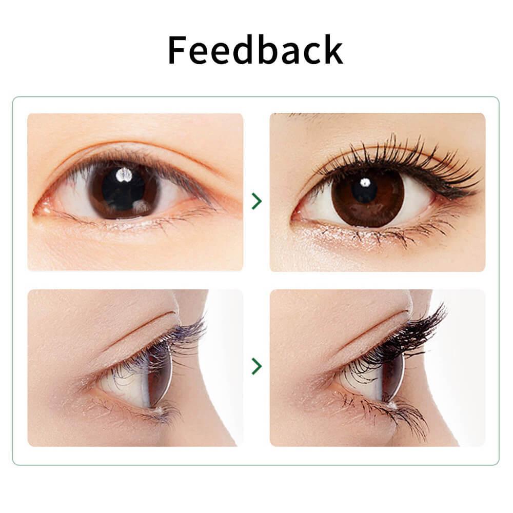 Heated Electric Eyelash Curler Use Effect