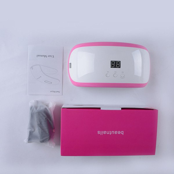 Nail UV Dryer package