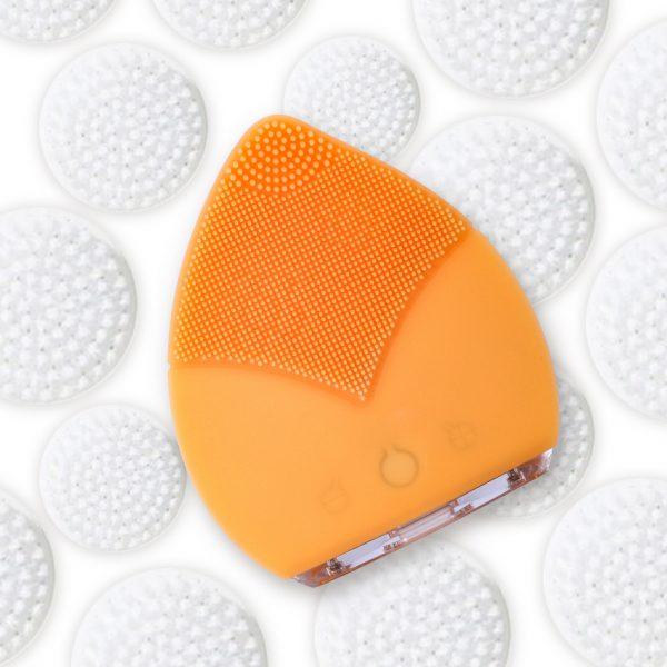 Deep Clean Face Brush Orange