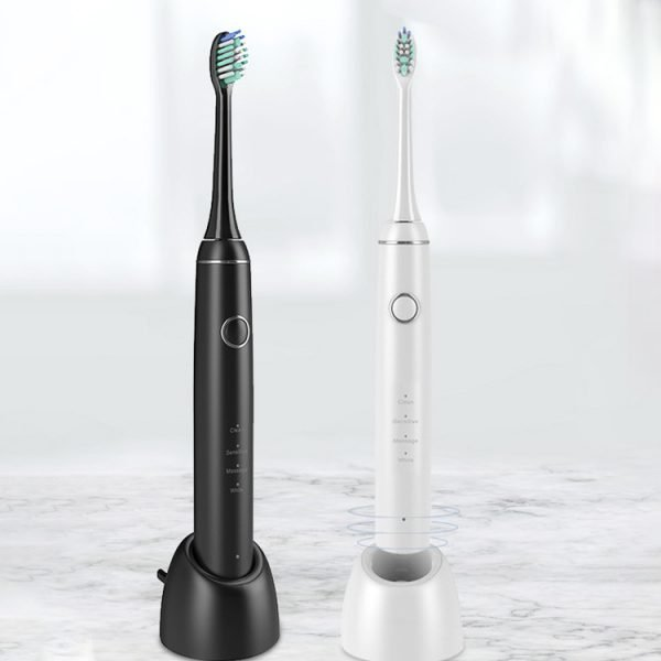 Blak and White Electric Toothbrush