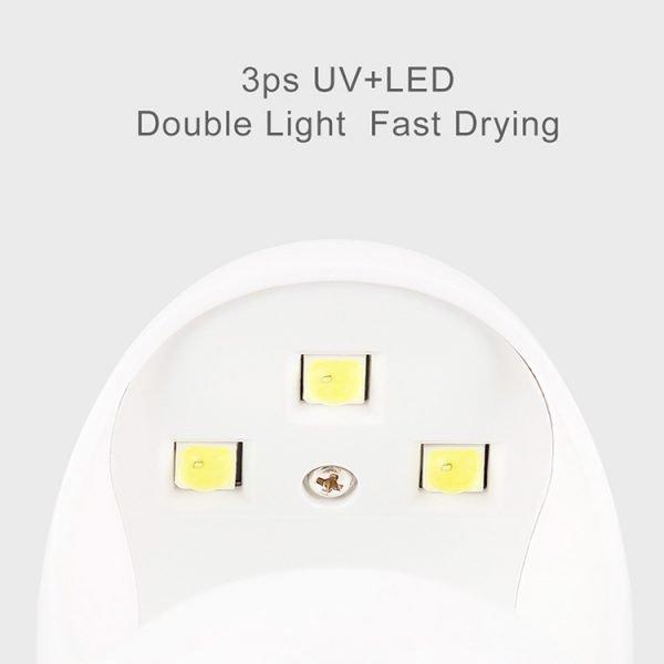 Egg Shape Portable UV Gel Nail Dryer China Factory