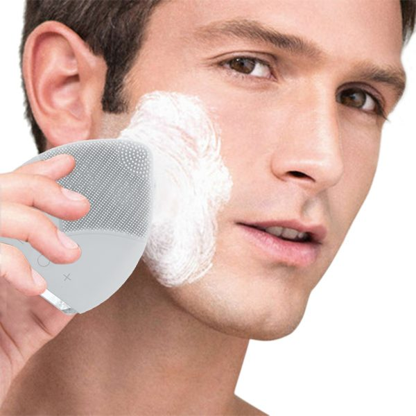 Sonic Cleansing Brush Grey for Men
