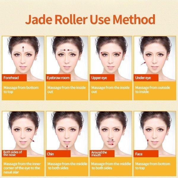 Jade Roller use method