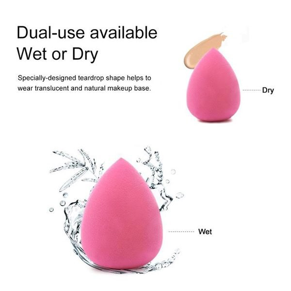 china supplier makeup sponge meet water to be bigger