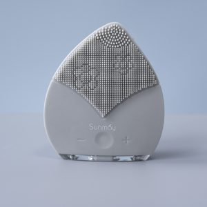 Electric Sonic Facial Silicone Cleansing Brush