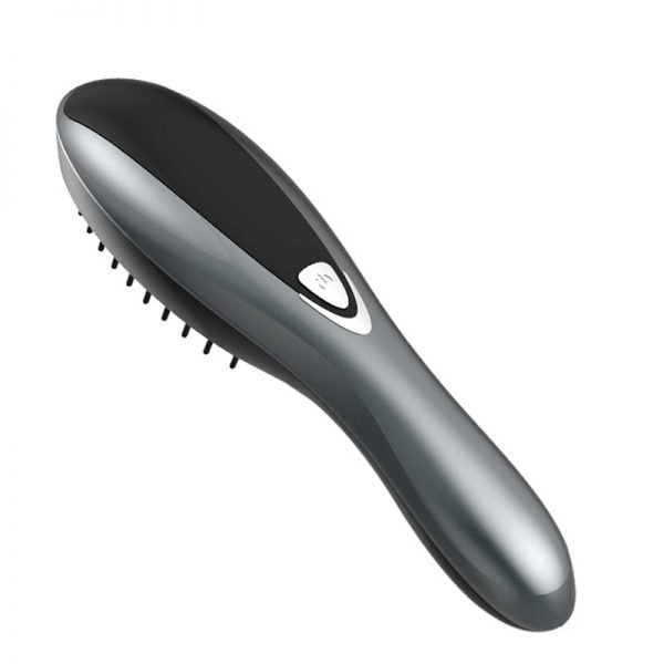 Silver Electric Hair Care Brush