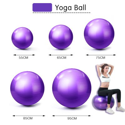 yoga ball size choice