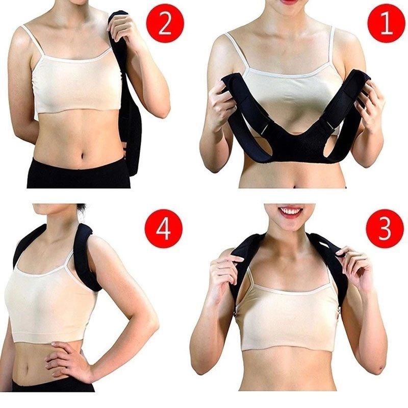 Posture Corrector Correct Wear Method