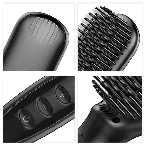 Wholesale Straight Hair Comb Black