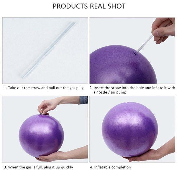 inflatable yoga ball