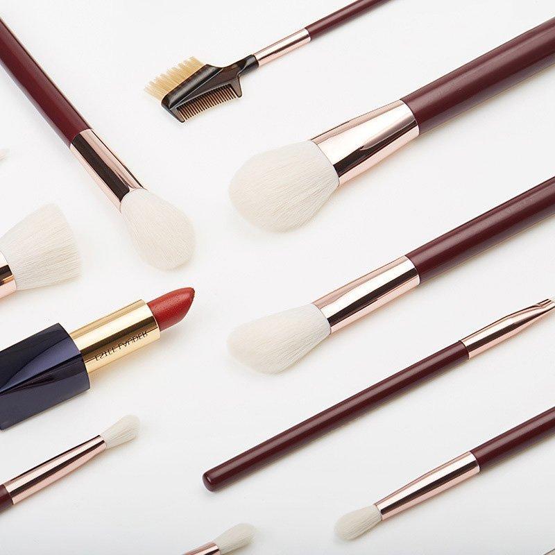 10pcs Classic Makeup Brush Set