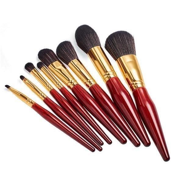 8 pcs Daily Makeup Brush Set
