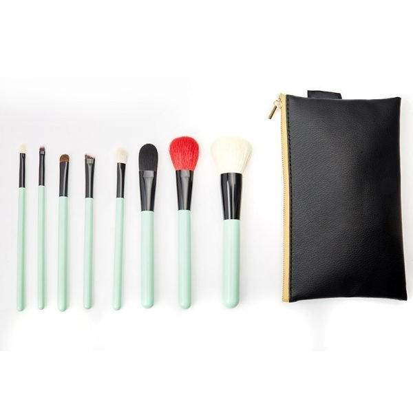 8PCs Makeup Brush Set with travel bag