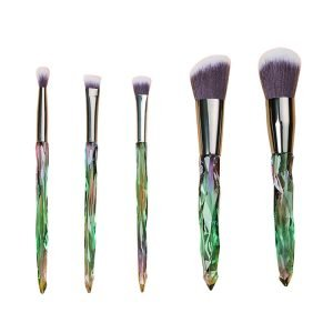 5 PCS Crystal Makeup Brushes Manufacture