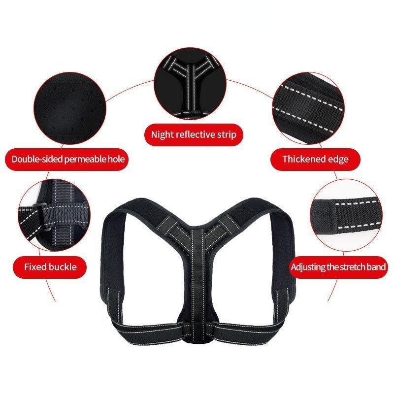 Adjustable Back Posture Corrector for Men