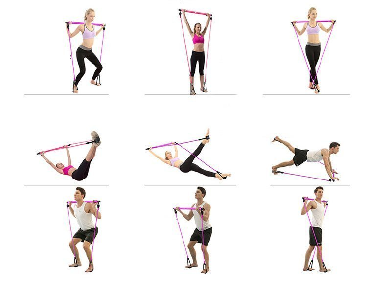 How to use pilates stick