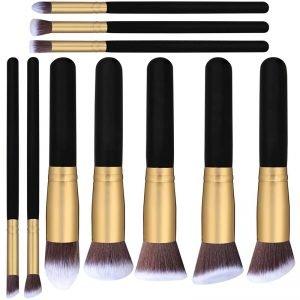 10 Pcs Makeup Brush Set Cosmetics Brush Cheap Price