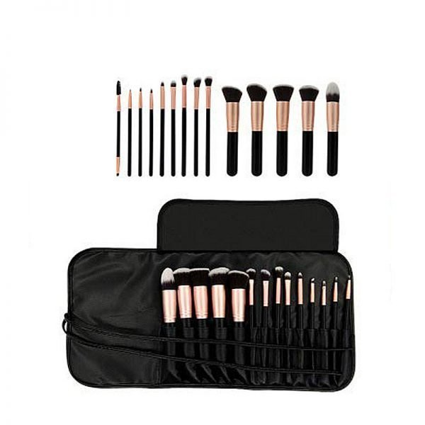 14pcs makeup brush set with travel bag