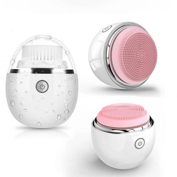 2019 Wireless Charging Electric Sonic Facial Cleansing Brush Cheap Price