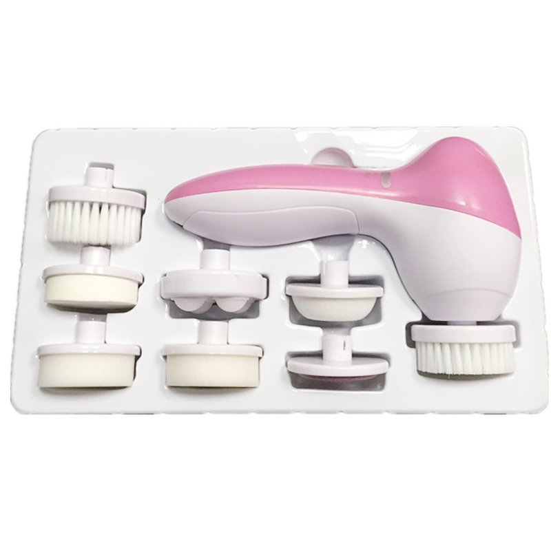 China Manufacture 7 in 1 Facial Brush
