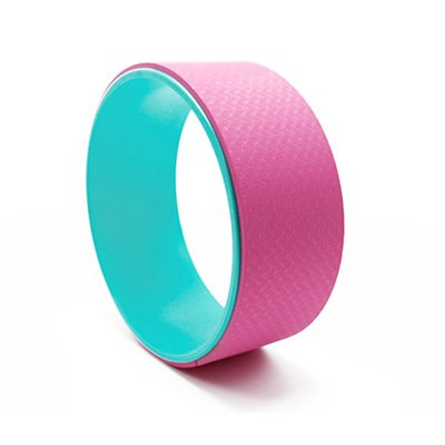 pink yoga wheel for girl china supplier