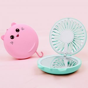 Hello Lucky Cat LED Makeup Mirror