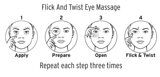 How to Use Precision Roller Ball Applicator Eye Massager