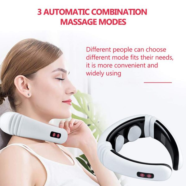 Intelligent Cervical Massager Electric Pulse Neck Massager Features 01
