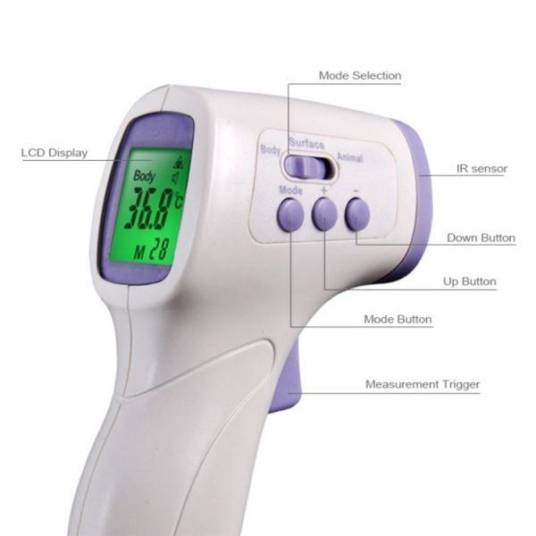 Multi-Function Non-contact Infrared Digital Thermometer Cheap Price