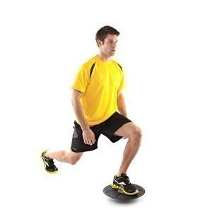 exercise the leg at balance plate