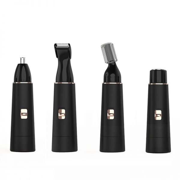 Black Electric Painless Hair Remover Set