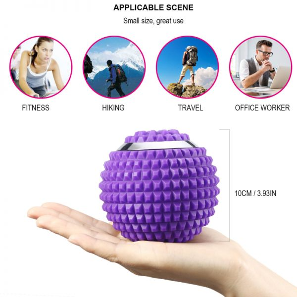 Trigger Point Massage Ball to Fight Sore Muscles