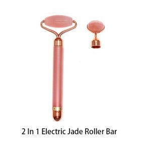 2 in 1 vibration jade roller