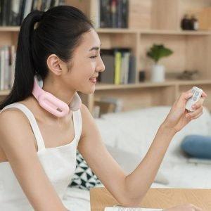 Portable Intelligent Neck Massager with Heat