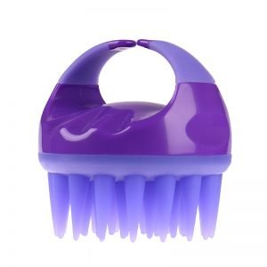 Silicone Hair Scalp Shampoo Massage Brush