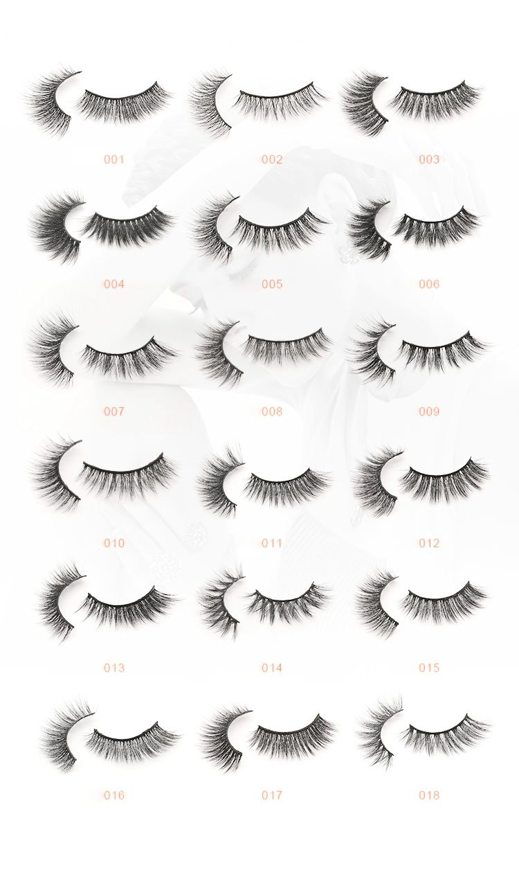 3D Faux Mink Lash 25mm Different Styles Wholesale