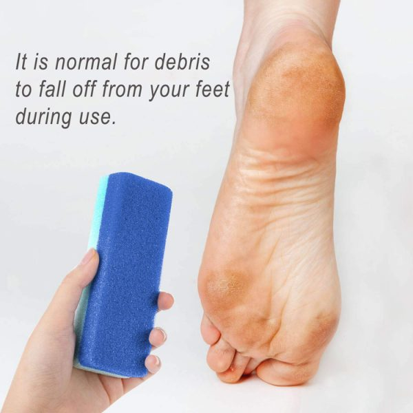 Foot Pumice Stone for Hard Skin Callus Remover and Scrubber