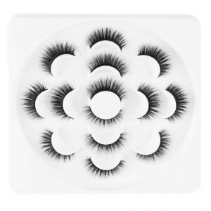 6D Faux Mink Eyelashes Fluffy, Wispy & Natural