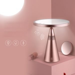 Bluetooth Speaker Lamp Makeup Mirror Made in China