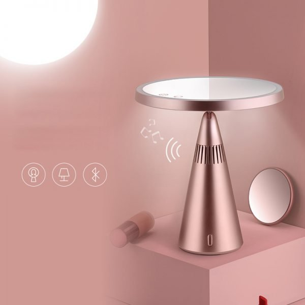 Bluetooth Speaker Lamp Makeup Mirror Made in China