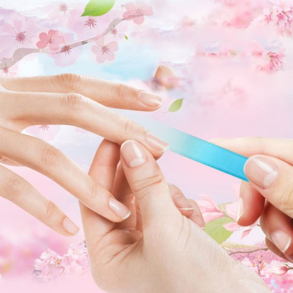 Durable Crystal Glass Nail File