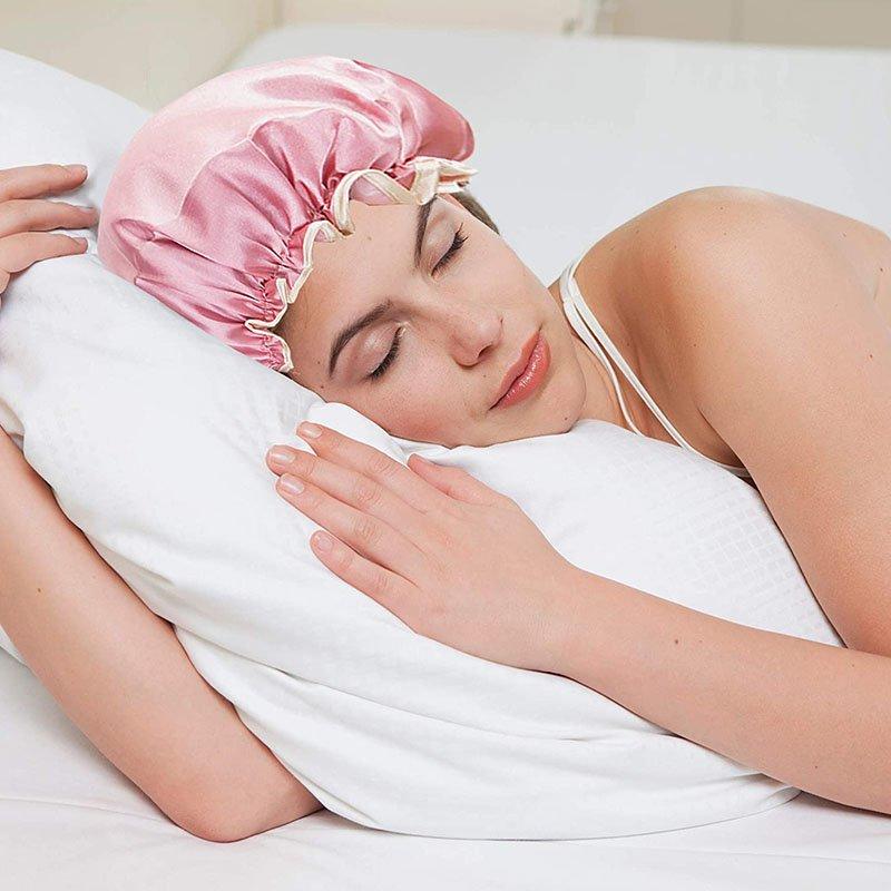 Waterproof Shower Cap with Elastic for Men and Women (2)